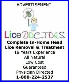 Lice Doctors Advertisement