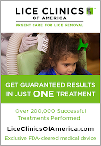 Lice Clinics of America Ad