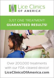 Lice Clinics of America Ad