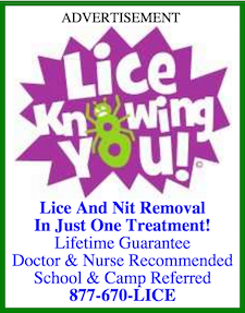 Lice Knowing You Ad