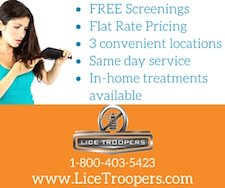 Lice Troopers Ad